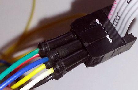 ISP Buchse unten