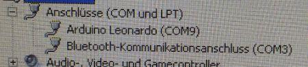 """""""Arduino Leonardo"""" COM-Port"""